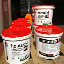 Клей для бытового и полукоммерческого Пвх линолеума Homokol 127 Prof