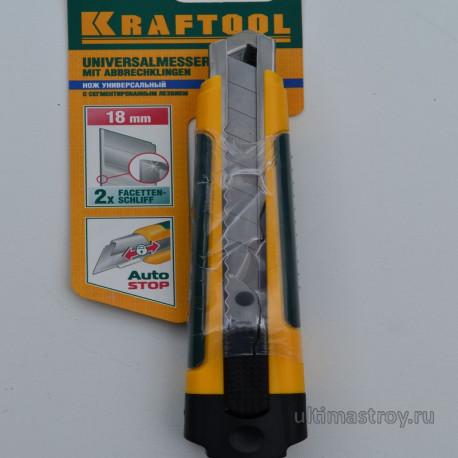 Строительный нож KRAFTOOL
