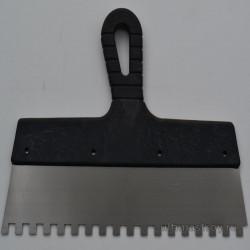 Шпатель гребенка для клея(сталь)