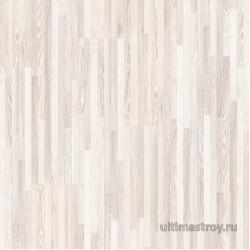 Ламинат Квип Степ Крео Ясень Белый 7-ми полосный CR1480