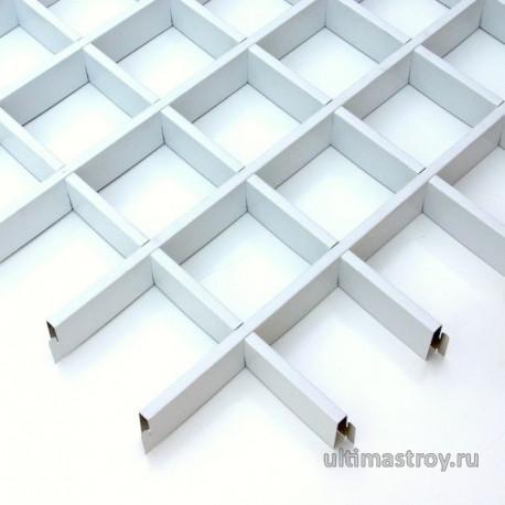 Потолок грильято белый