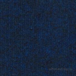 Ковролин ФлорТ-Офис 03028 темно-синий