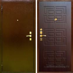Металлические двери Doro 2 с броненакладкой 860x2050 мм