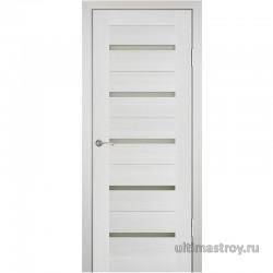 Межкомнатные двери Uberture Master PS-7 Эшвайт мелинга