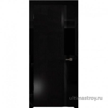 Межкомнатные двери Луя Неро глянец ScanBlack 550÷800 x 2000 мм