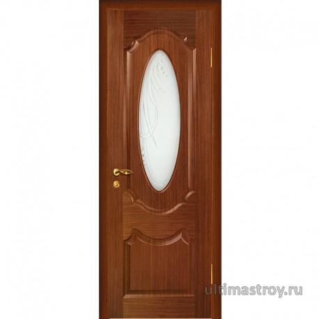 Межкомнатные двери скиновые Ариана Орех ДО 600,700,800,900 x 2000 мм