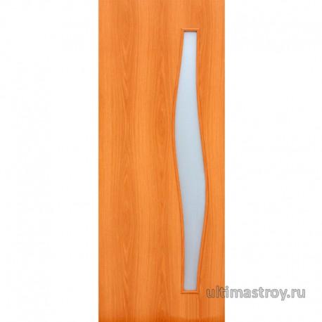 Межкомнатные двери ламинированные Волна остекленные