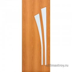 Межкомнатные двери ламинированные Ветка остекленные