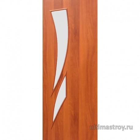 Межкомнатные двери ламинированные Стрелец остекленные