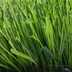 Искусственная трава для футбола 40мм биколор